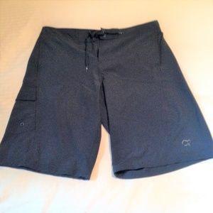 OP Board Shorts Black Size 34 Excellent!